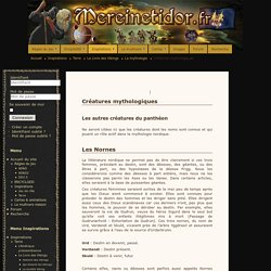 La mythologie Scandinave - Créatures mythologiques