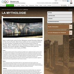 La Mythologie - Jeux Olympiques de l'Antiquité, Histoire, Mythologie, Athlète, Sports