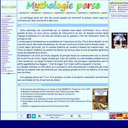 Mythologie perse