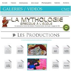 Projet Mythologie Production écrites CM2