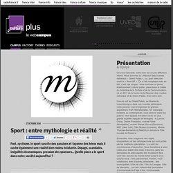 Sport : entre mythologie et réalité / RÉUNION DES MUSÉES NATIONAUX - GRAND PALAIS