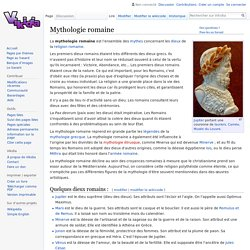 Mythologie romaine