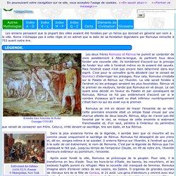 Mythologie romaine : Fondation de Rome
