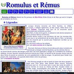 Mythologie romaine : Romulus et Rémus