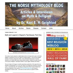 Articles & Interviews on Myth & Religion