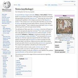 Terra (Roman mythology)