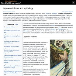 Japanese folklore and mythology - New World Encyclopedia