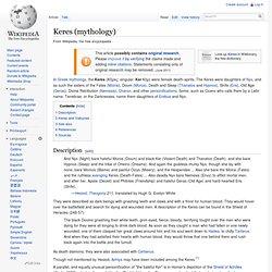 Keres (mythology)
