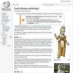 Lamia (Basque mythology)