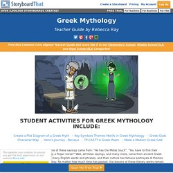 Explore Grecian Lore and Legend with this Informative Teacher's Guide!