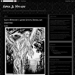 Nøkk & Myling: Slavic Mythology I: Water Spirits, Demons, and Creatures