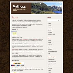 Realm of Mythosa | Main / TableSmith