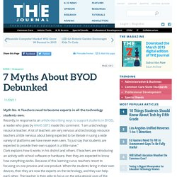 7 Myths About BYOD Debunked