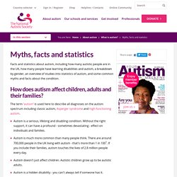 Myths, facts and statistics - NAS