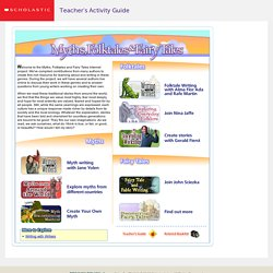 Myths, Folktales, and Fairy Tales Home