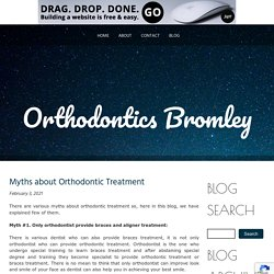 Myths about Orthodontic Treatment