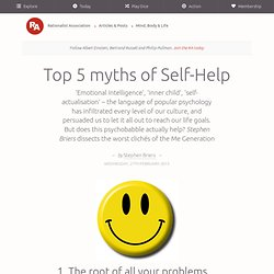 Top 5 myths of Self-Help