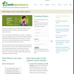 GMO Myths and Truths (2nd edition) - Earth Open Source