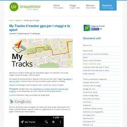 Mytracks traccia percorsi via gps per smartphone android mentre cammini, corri o vai in bici