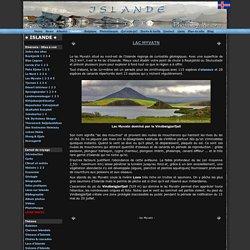 lac Myvatn - Carnet de voyage en Islande - Guide de voyage - Photo Voyage