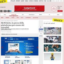 MyWebsite, la prova della piattaforma per creare siti aziendali