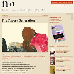 The Theory Generation