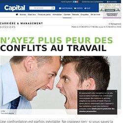 N'ayez plus peur des conflits au travail