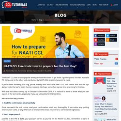 NAATI CCL Essentials: How to prepare for the Test Day?