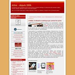 Nabbu: la librairie numérique pas comme les autres - Aldus - depuis 2006 - Aurora