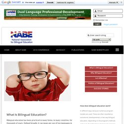 NABE - Bilingual Education