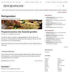 Nachgesalzen » Das Blog der Köche, Gastronomen und Gourmets. » ZEIT ONLINE Blogs