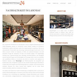 SUSTAINABILITY IN SHOPPING