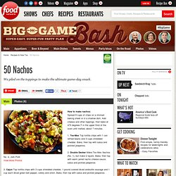 50 Nachos : Recipes and Cooking