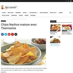 Chips Nachos maison avec Thermomix - Recette Thermomix