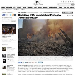 James Nachtwey's 9/11 Photographs