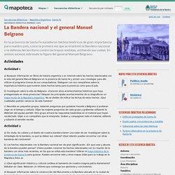 La Bandera nacional y el general Manuel Belgrano