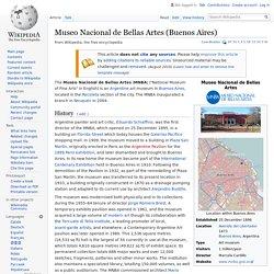 Museo Nacional de Bellas Artes (Buenos Aires) - Wikipedia