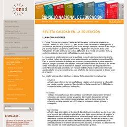 Revista Calidad en la educación Chile (Scielo)