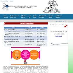 Cámara Nacional de la Industria Editorial Mexicana - CANIEM.