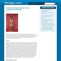 Fördelar och nackdelar med Hindu arrangerade äktenskap - mmgec.com