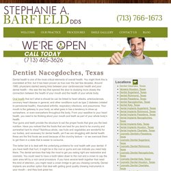 Dentist Nacogdoches, Texas - Houston Dentist- Stephanie A. Barfield, DDS