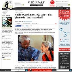 Nadine Gordimer (1923-2014) : la plume de l'anti-apartheid