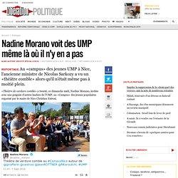 Nadine Morano voit des UMP même là où il n'y en a pas