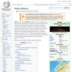 Ville de Nador - wikipedia