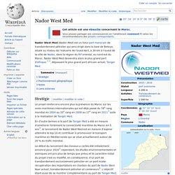 Nador West Med, baie de Betoya - wikipedia