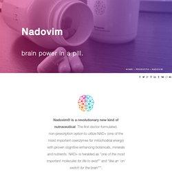 Nadovim - Innovative Medicine