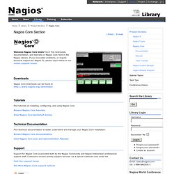 Core Section - Nagios Library