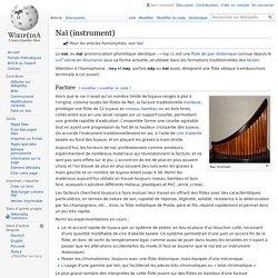 Naï (instrument)