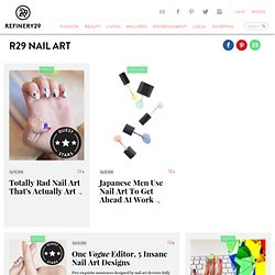 Nail Art Tricks, Slideshow 3fpage 3d2 - 2011 Fashion Trends and More at Refinery29.com