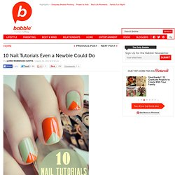 10 Nail Tutorials Even a Newbie Could Do